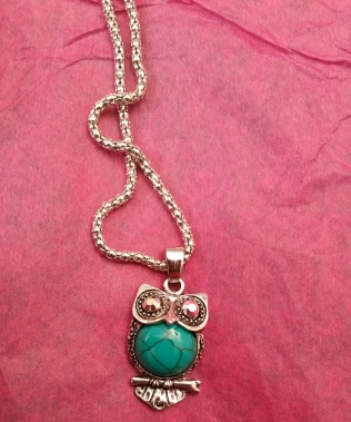 Hooty Hoot Turquoise Pendant (That is the actual given name)