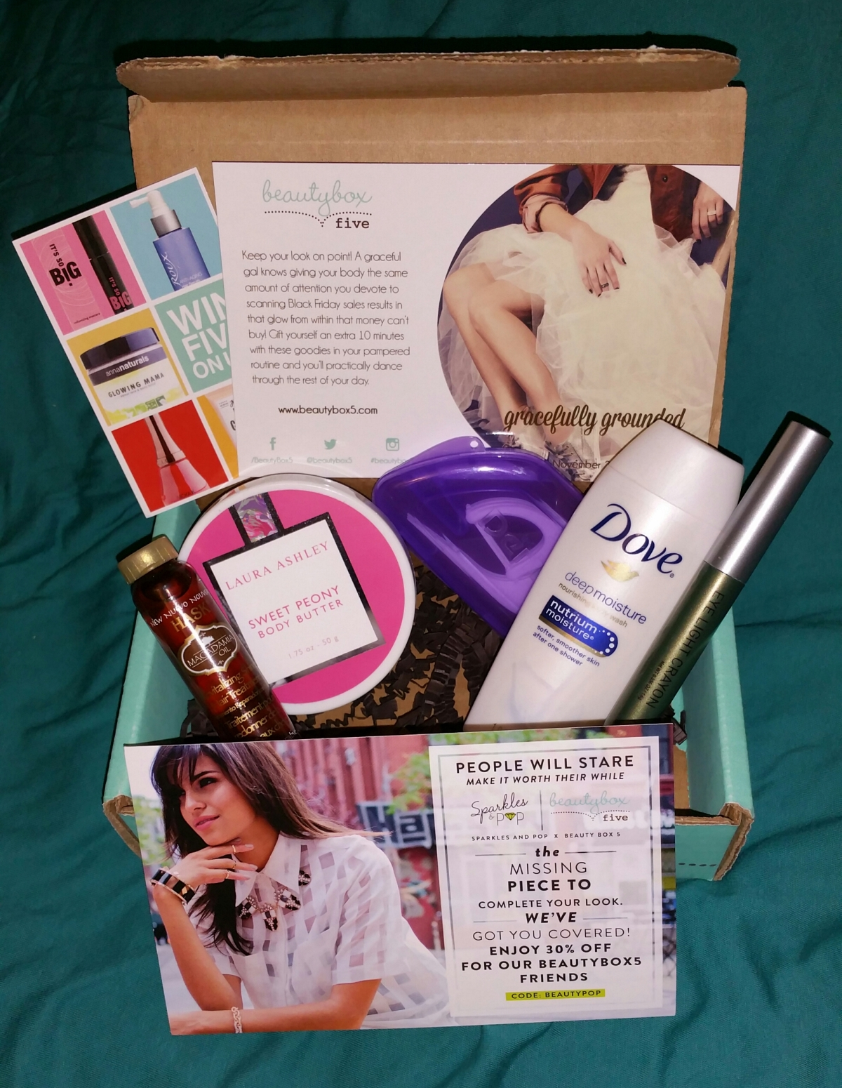 First Beauty Box Five