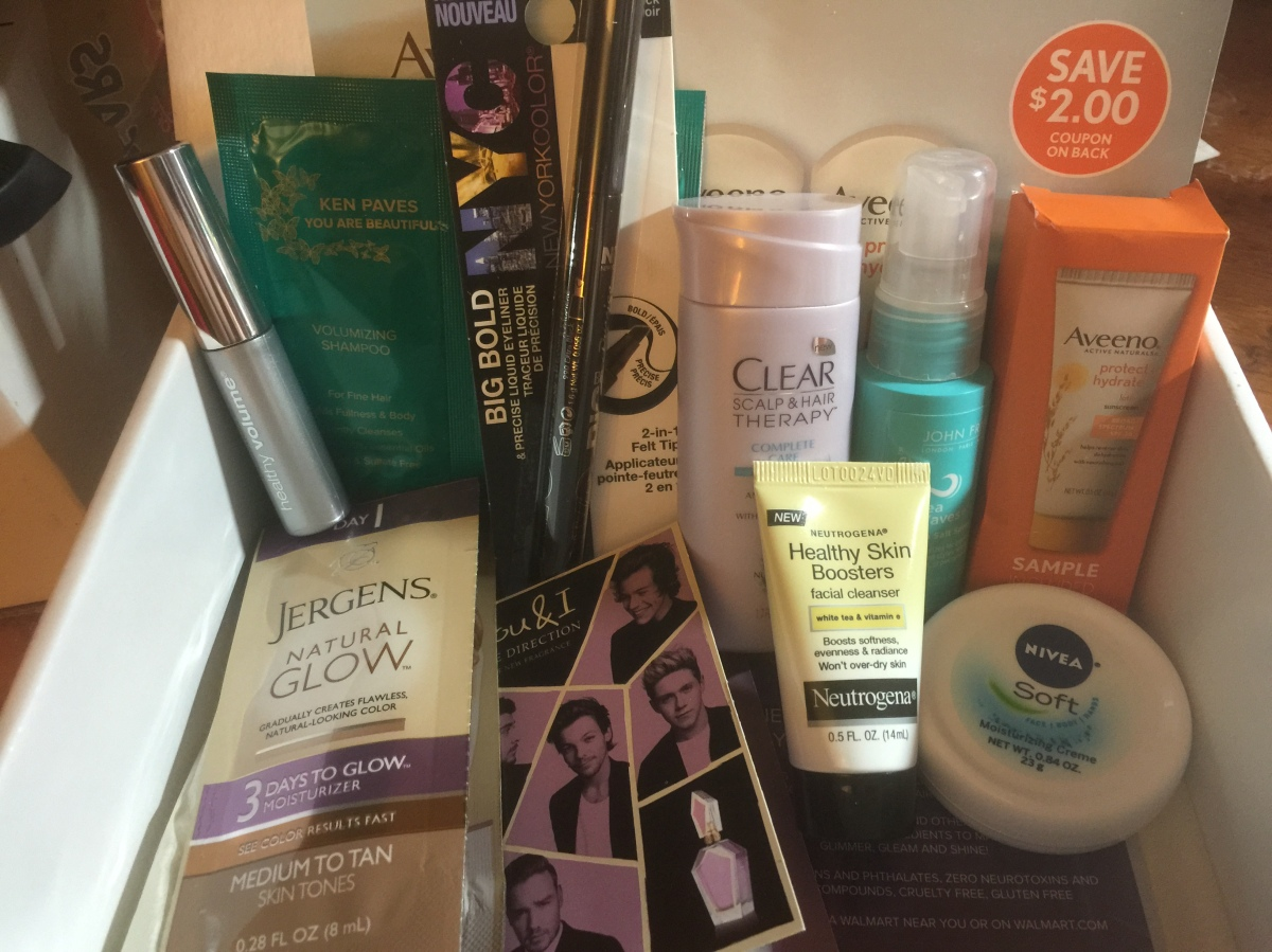 Megan's Walmart Beauty Box